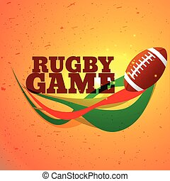 Jeu,  rugby, fond,  sports