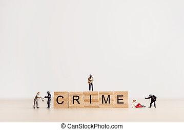 jeu société, lettres, orthographe, les, mot, crime