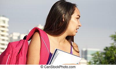 jeune, adolescent, étudiant