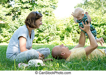 jeune famille