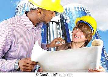 jeune, ingénieurs