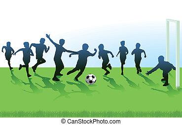 jeunesse, football