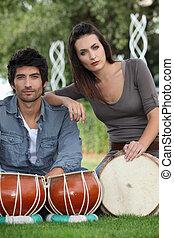 jeunesse, tambours
