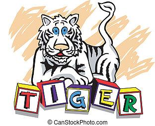 jeunesse, tigre