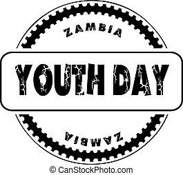 jeunesse, zambie, jour