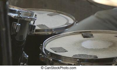jeux, batteur, tambour