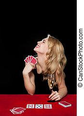jeux & paris, girl, jeune, jouer