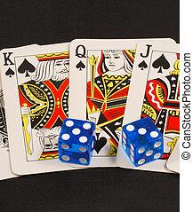 jeux & paris, prendre, ou, risque