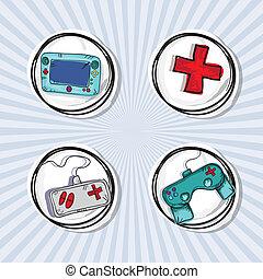jeux visuels, icônes