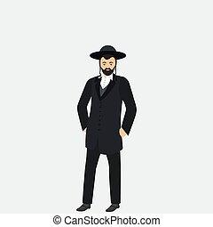 Jew man character