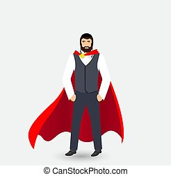 jew superhero illustration