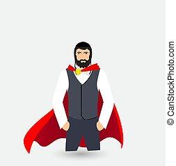 jew superhero illustration