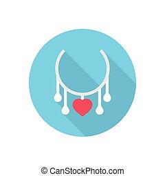 jewel  flat color icon