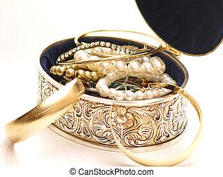 jewelery, boîte