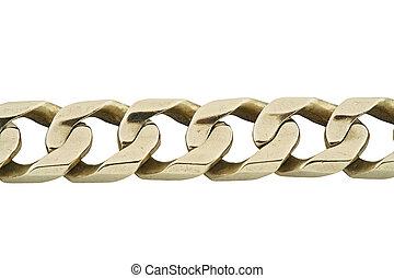 jewelery, bracelet, 016, or, isolé