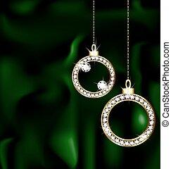 jewelery, pelotas, navidad