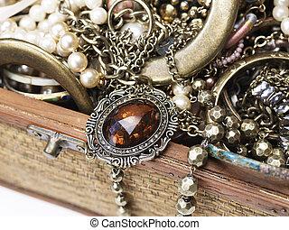 jewelery, scatola