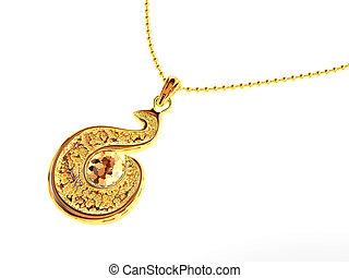 Jeweller ornaments - Female jeweller ornaments on a...