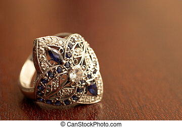 Jewelry #3 - Jewel encrusted wedding ring