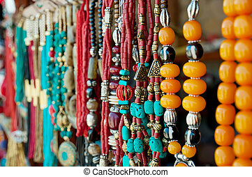 Jewelry at market