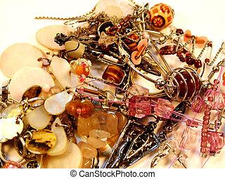 Jewelry bijoux - Bunch of different kind of bijoux