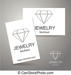 jewelry boutique sign logo