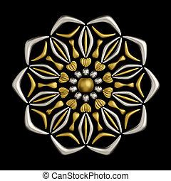 Jewelry brooch design
