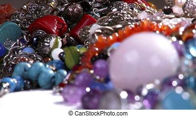Jewelry, closeup
