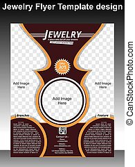 Jewelry Flyer Template Design