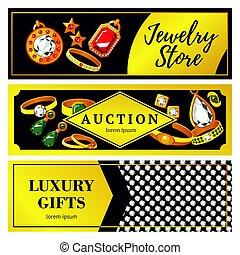 Jewelry Horizontal Banners