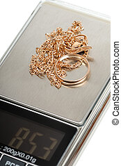 Jewelry scrap electronic scales