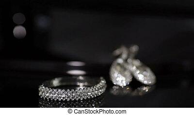Jewelry - Girl takes jewelry