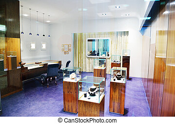 jewelry store indoors - jewelry store shop indoors - small...