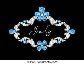 Jewelry vintage card