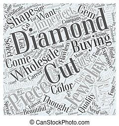 jewelry wholesale diamonds dlvy nicheblowercom Word Cloud Concept