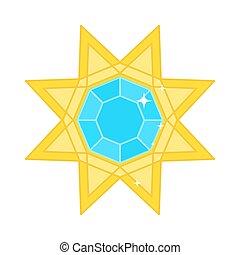 jewerly golden star