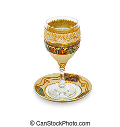 Jewish Glass for wine - Jewish glass for a meeting of the...