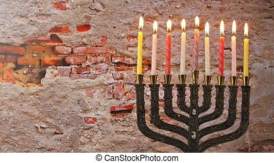 Jewish Holiday symbol Hanukkah menorah Hanukkah, the Jewish Festival of Lights