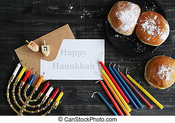 Hanukkah - Jewish holiday Hanukkah and its famous...