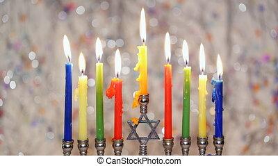Hanukkah, the Jewish Festival of Lights - Jewish holiday,...