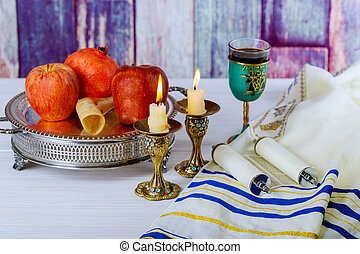 Rosh hashanah jewish New Year holiday