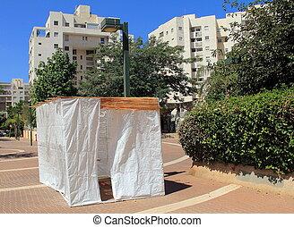 Jewish Holiday Sukkah