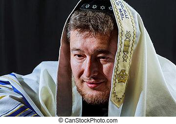Jewish holiday, Holiday symbol, Jewish Holiday symbol, Jewish man Religious symbol.