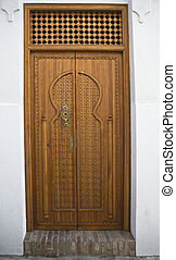 Jewish quarter door