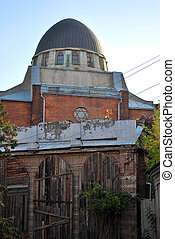 Jewish Synagogue - old traditional jewish synagogue in...