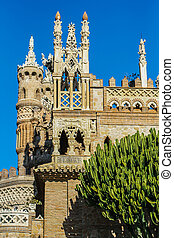 Castillo Monumento Colomares - Jewish tower at the monument...