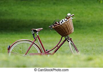 jezdit na kole, červeň