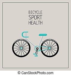 jezdit na kole, ilustrace