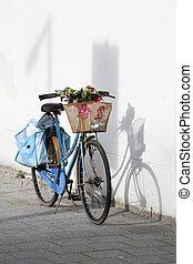 jezdit na kole, za