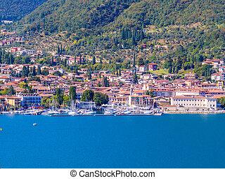 jezero, itálie, garda